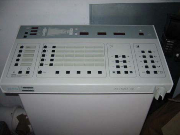 Generatore HF SIEMENS modello Polymat 65